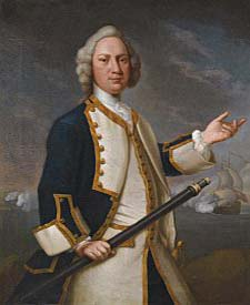 Arthur Forrest [1716-1770] Captain Arthur Forrest RN of His Majesty's ship 'Augusta'